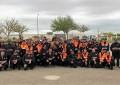 """Sesenta voluntarios de 14 Agrupaciones de la provincia realizan el """"Curso Básico de Voluntarios de Protección Civil"""""""