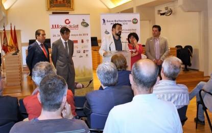"""Ciudad Real: Presentación del Torneo de Ciudad Real perteneciente al """"Seve Ballesteros PGA Tour 2018"""""""
