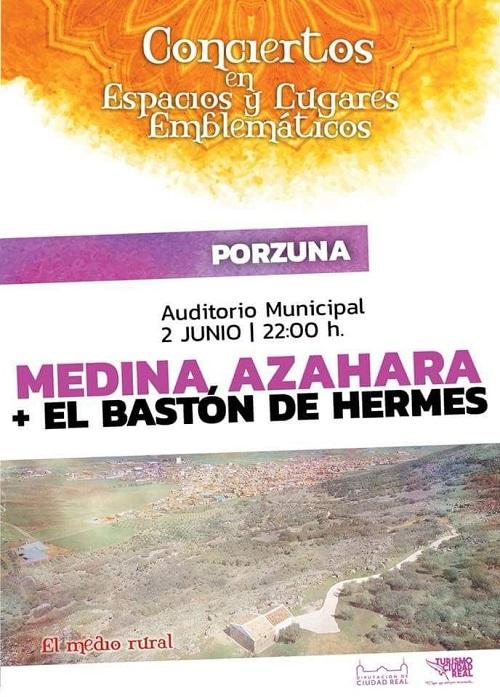 Concierto de Medina Azahara en Porzuna