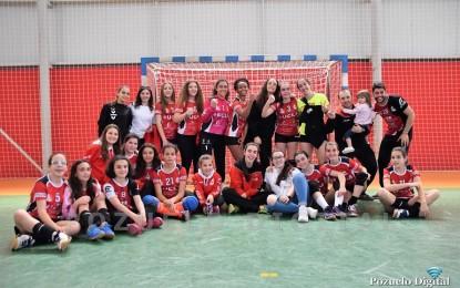 El BM Pozuelo y el BM Manzanares se clasifican para la fase final de balonmano infantil femenino, mientras los Marianistas se quedan a las puertas