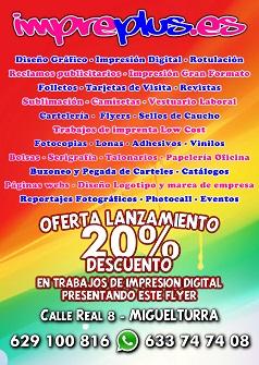 Impreplus - Calle Real, 8 - MIGUELTURRA
