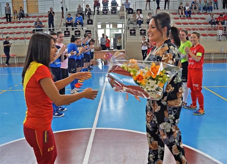 Gemma Arenas recibe el reconocimiento del Almagro FSF