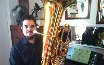 Miguelturra: Ángel Antonio Ocaña Moraga se alza con el primer premio en el Concurso Nacional de Tuba