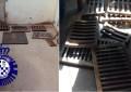 Valdepeñas: Detenido por la Policía el presunto autor del robo de medio centenar de tapas de alcantarilla