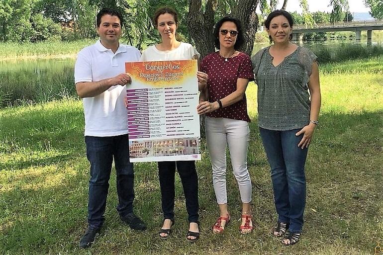 Celtas Cortos actuarán en El Robledo dentro del ciclo Conciertos en Espacios y Lugares Emblemáticos organizado por la Diputación Provincial