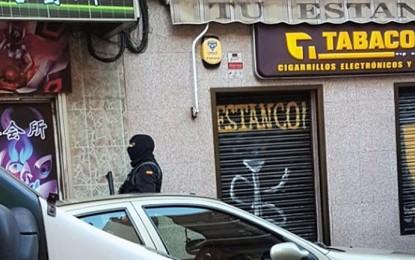 Ciento veintiún detenido por drogas, prostitución, extorsión y robos