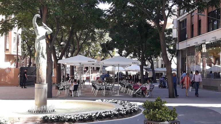 Ciudad Real Un fallo eléctrico en un aire acondicionado posible causa del incendio ocasionado en una vivienda de la Plaza de Cervantes