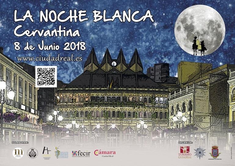 Ciudad Real celebra una nueva edición de la Noche Blanca Cervantina este viernes