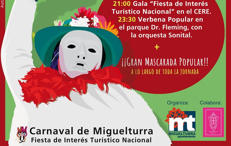 Miguelturra celebra este sábado la declaración de su carnaval como Fiesta de Interés Turístico Nacional