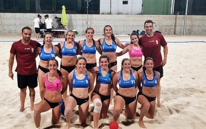 Castilla La Mancha se alza con el triunfo en el Campeonato de España de Selecciones Autonómicas de Balonmano Playa en la categoría juvenil femenina
