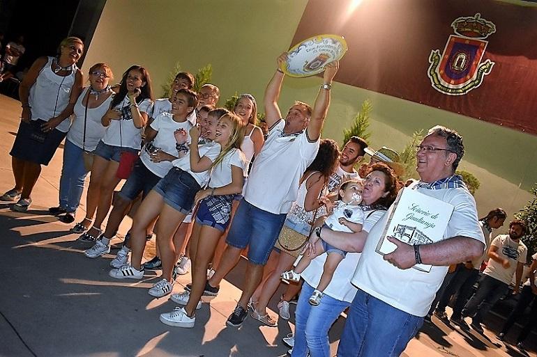 Ciudad Real La Peña Los Percheleros se llevan el plato gordo que les acredita como ganadores de la XL Edición del Concurso de Limoná de la Pandorga