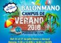 """El Club BM Pozuelo organiza un año más el Campus de Balonmano """"Verano 2018"""""""