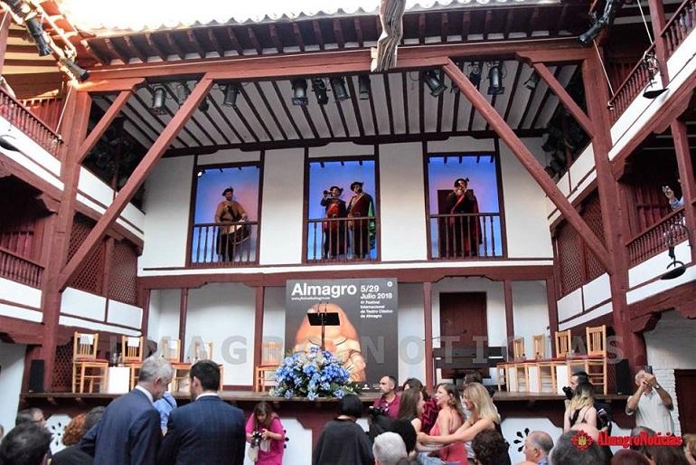 El Corral de Comedias de Almagro celebra hoy su 390 aniversario de su construcción