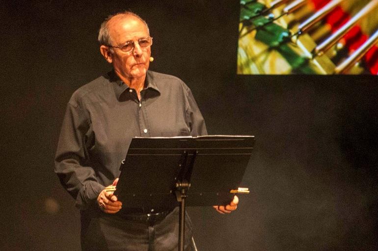Emilio Gutierrez Caba con las palabras de Fray Luís de León en el Festival Internacional de Teatro Clásico de Almagro
