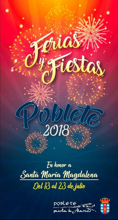 Feria y Fiestas 2018 de Poblete