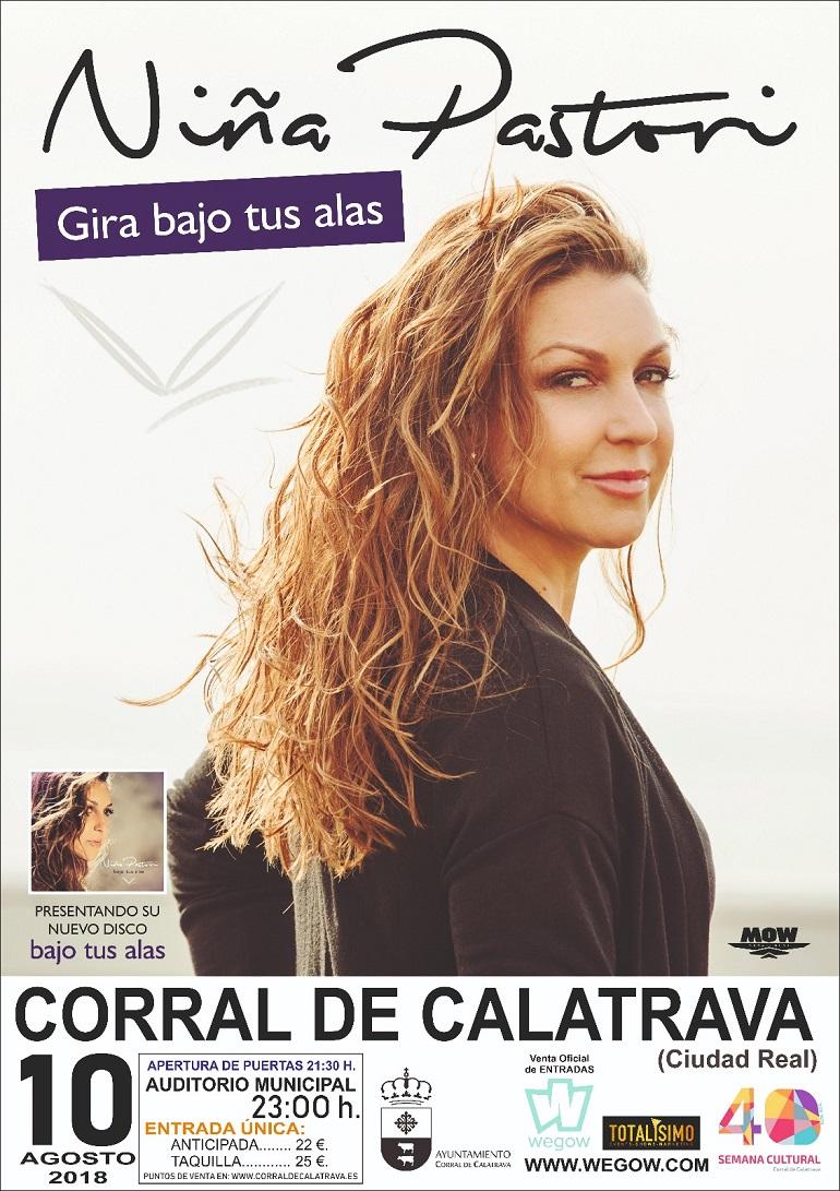Niña Pastori en concierto en Corral de Calatrava 2018