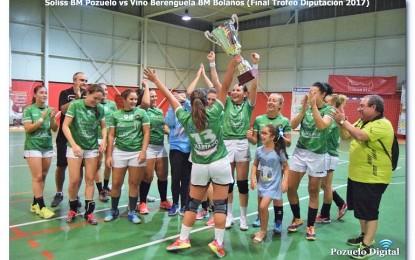 El Soliss BM Pozuelo y el BM Bolaños se disputan hoy el Trofeo Diputación de Balonmano