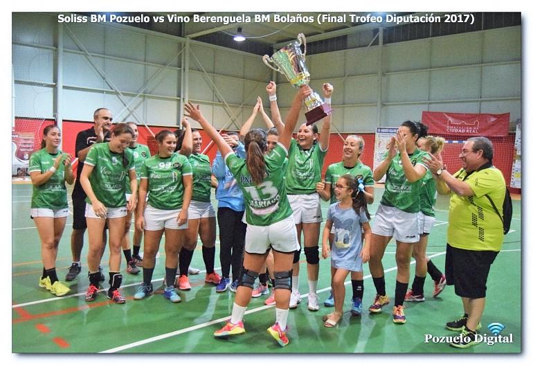 El BM Bolaños intentará revalidar el título de campeón del Trofeo Diputación en esta edición del 2018