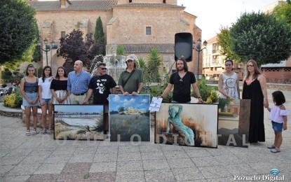 """Pozuelo de Calatrava: El puertollanero Orencio Murillo gana el """"III Certamen Nacional de Pintura Rápida"""" con una obra sobre la Laguna """"La Inesperada"""""""