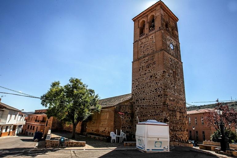 Asaltan las iglesias y el ayuntamiento de Arroba de los Montes y Fontanarejo con el fin de robar el dinero en metálico