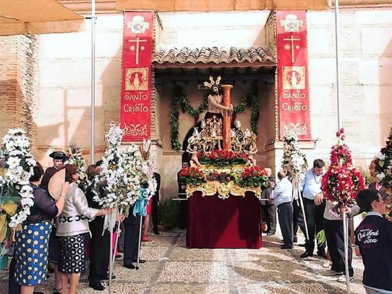 Bolaños solicita la declaración de Fiesta de Interés Turístico Regional de la Procesión de las Albardas y la Rifa del Cristo