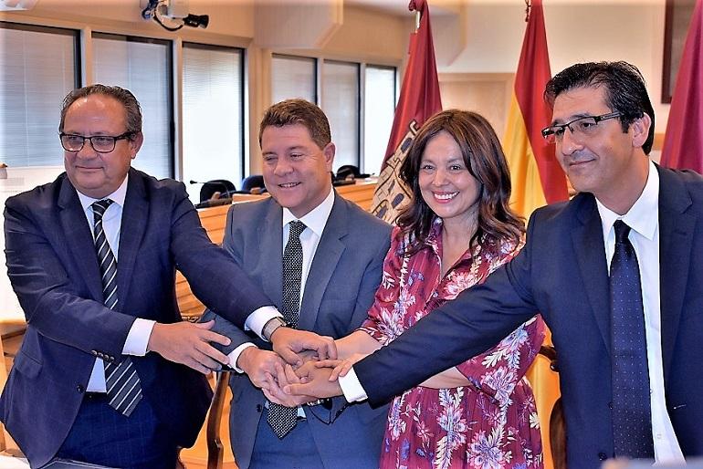 Ciudad Real Unos jardines públicos ocuparán los terrenos de Sanidad tras el acuerdo entre la Junta y el consistorio capitalino