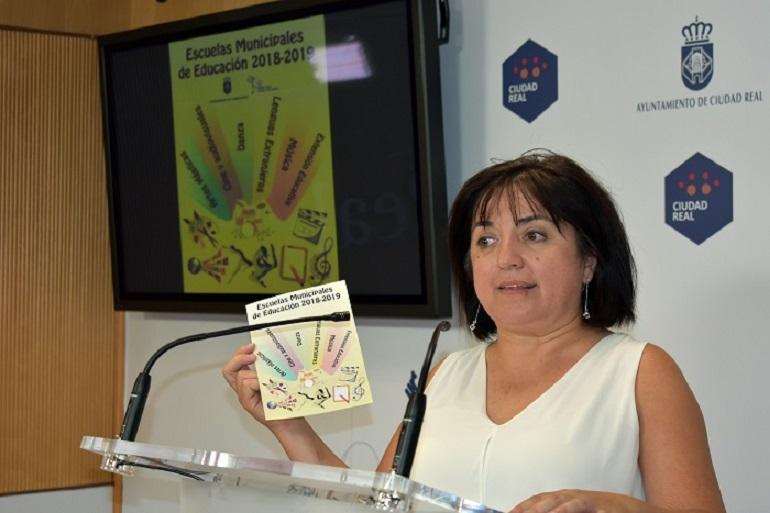Ciudad Real abre el plazo de matrícula de las Escuelas Municipales de Educación para el curso 2018-2019