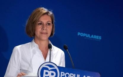 Cospedal deja Castilla La Mancha y será posible candidata en las elecciones europeas del próximo año