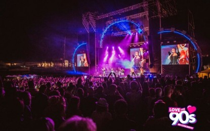 Daimiel: Más de 8 mil personas rememoraron la buena música de los 90
