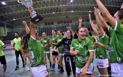 El BM Bolaños revalida el título de campeón del Trofeo Diputación de Balonmano Senior Femenino