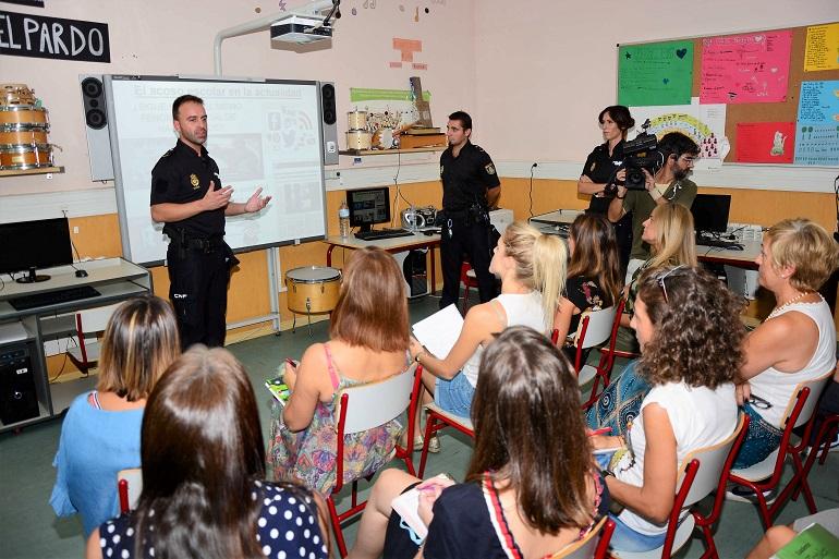 La Policía Nacional intensificará la lucha contra el acoso escolar durante el nuevo curso
