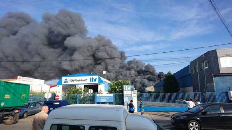 Manzanares La Jueza decreta prisión provisional para los ocupantes de la nave que ardió este sábado en el poligono industrial