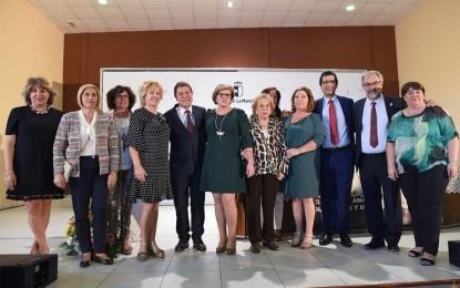 Aldea del Rey celebró el Día Nacional de las Amas de Casa con la asistencia del presidente de la Junta de Comunidades