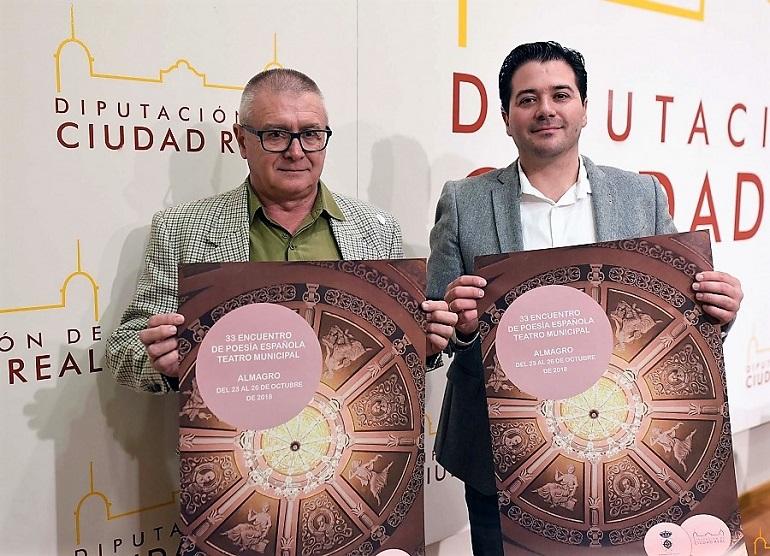 Almagro La XXXIII Edición de los Encuentros de Poesía Española tendrá lugar del 23 al 26 de octubre en el Teatro Municipal