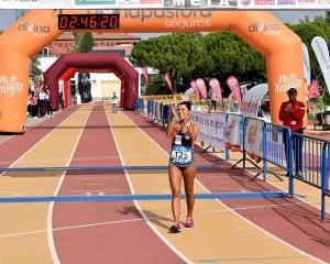 Gemma Arenas vuelve a conquistar la Quixote Maratón