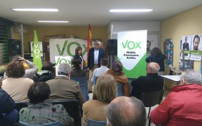 Jesús Felipe Sanchez Crespo de  64 años, es el único concejal de VOX en la provincia de Ciudad Real