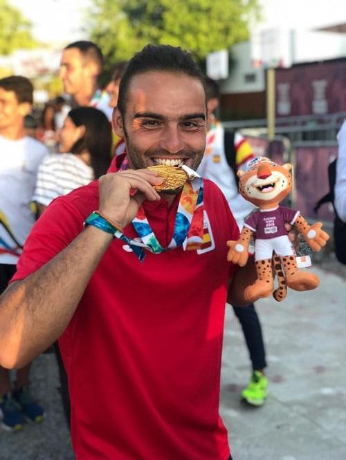 Jose Luis Perez Poblete medalla de oro en los Juegos Olimpicos de Buenos Aires