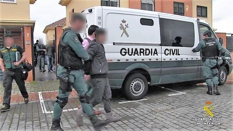 39 años por herir a cuatro guardias civiles en Argamasilla de Calatrava