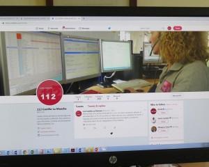 El 1-1-2 de Castilla La Mancha comienza hoy su andadura en twitter y a través de Télegram para los medios de comunicación