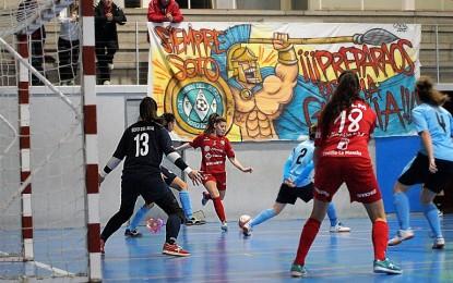 El Almagro FSF se trae un punto de su última salida a Soto de Real tras empatar a dos tantos en un partido de claro dominio almagreño