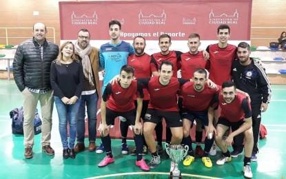 Los Cortijos se proclama campeón intercomarcal del Trofeo Diputación de fútbol-sala masculino