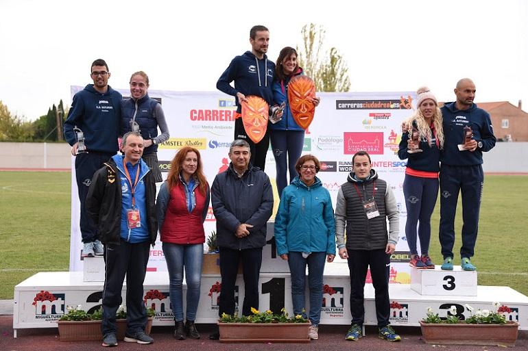 Miguelturra 613 Atletas concluyeron la fiesta de la XV Edición de la Media Maratón Rural