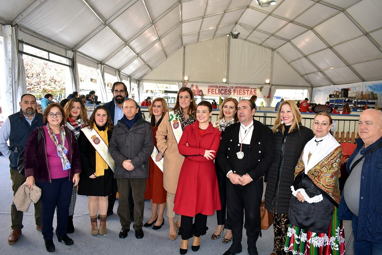 Ciudad Real Inaugurada la Pista de Hielo navideña instalada en la Plaza de la Constitución