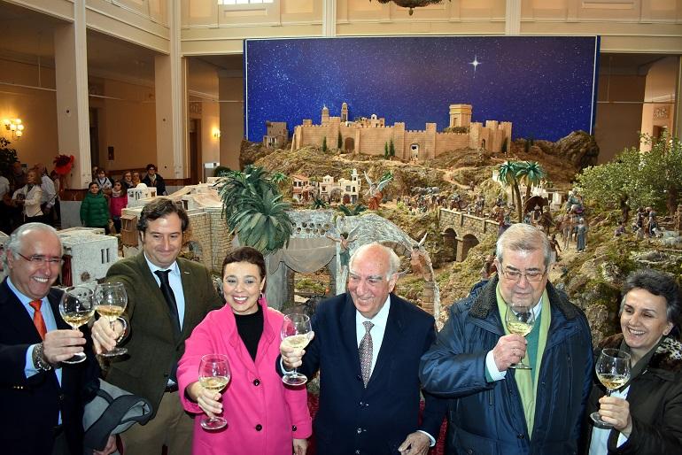 Ciudad Real Inaugurado el Belén Monumental Municipal en el Centro Cultural Antiguo Casino