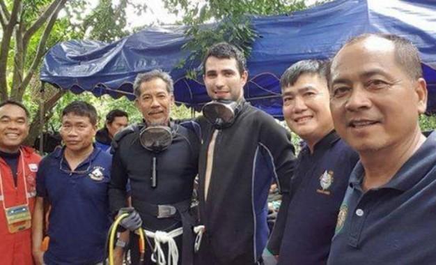 El buzo ciudadrealeño que intervino en el rescate de los niños tailandeses recibe la Cruz de Oro de la Solidaridad Social
