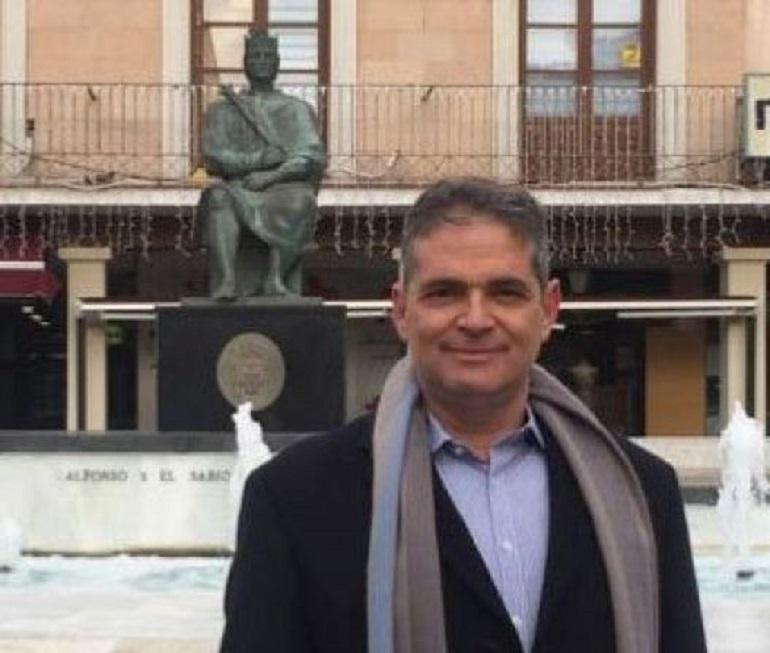 Vox Ciudad Real presentas a su coordinador municipal, Óscar Fernández López