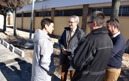 Ciudad Real: Pilar Zamora visita el inicio de las obras de adecuación de la calle Juan Ramón Jiménez