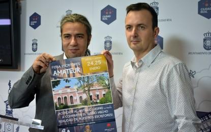 Ciudad Real acogerá la I Feria Nacional  de Escritores Amateur