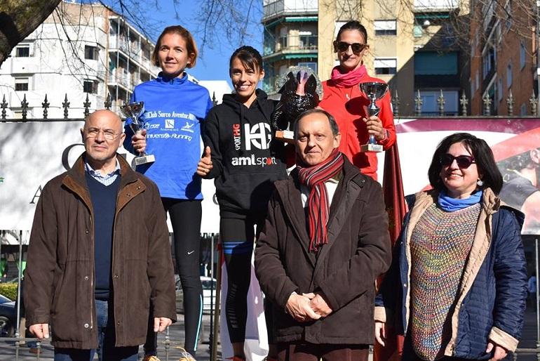 Gemma Arenas y Chiqui Pérez se llevan la XLV Carrera del Pavo de Ciudad Real