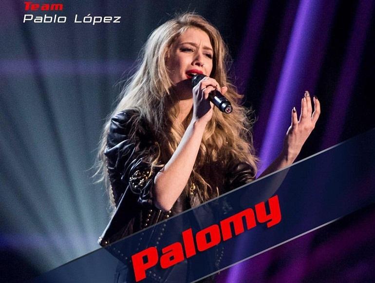 La artista pozueleña Palomy López Tello, concursante del programa de Antena 3 La Voz pasó anoche directamente a las batallas finales